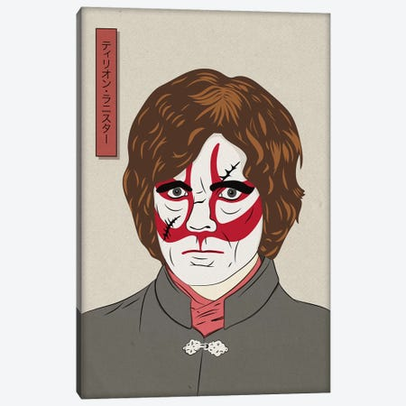 Kabuki Cynical Dwarf Canvas Print #JMP2} by 5by5collective Canvas Print