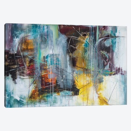Birdland Canvas Print #JMR10} by Jane M. Robinson Canvas Artwork
