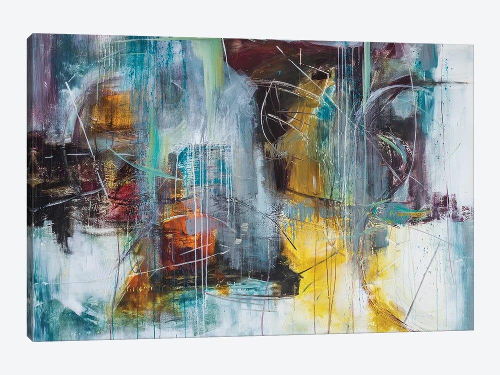 Birdland by Jane M. Robinson 1-piece Canvas Art Print