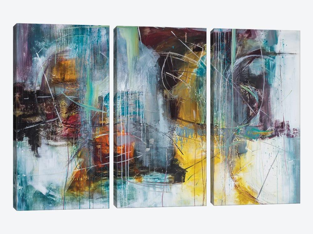 Birdland by Jane M. Robinson 3-piece Art Print