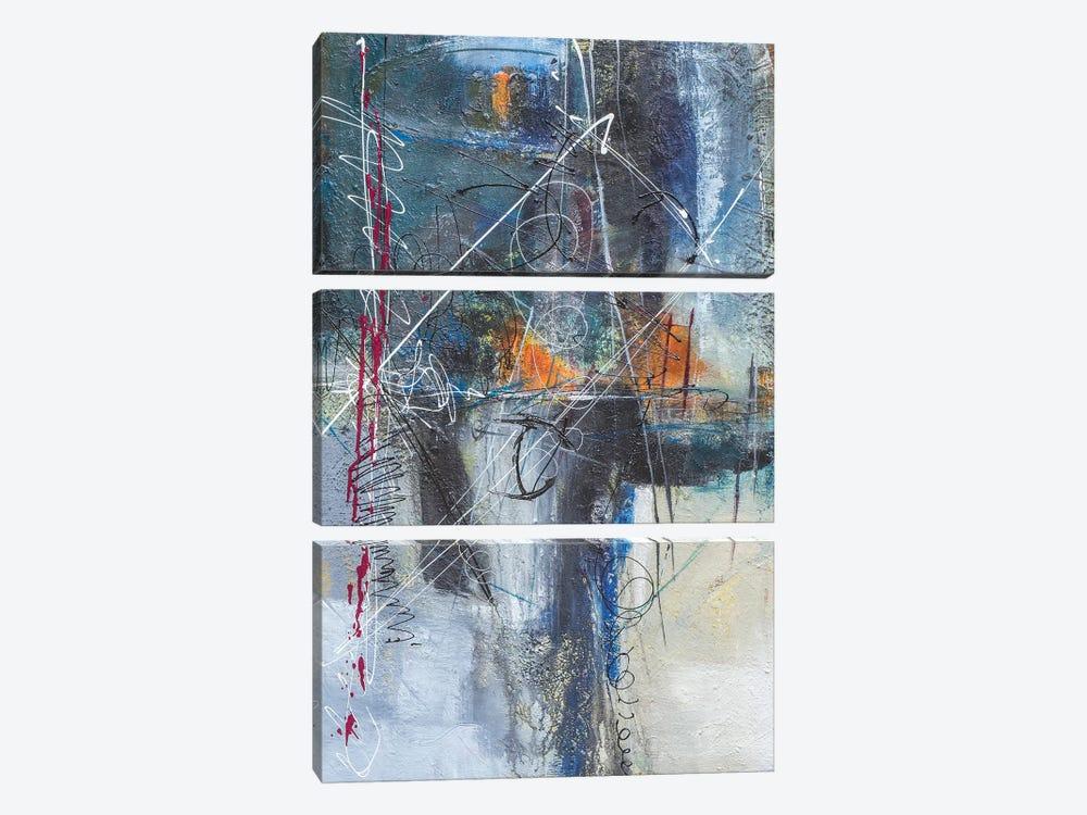 Body & Soul by Jane M. Robinson 3-piece Canvas Art