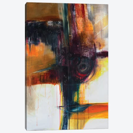 Jazzy Abstract II Canvas Print #JMR15} by Jane M. Robinson Canvas Art Print