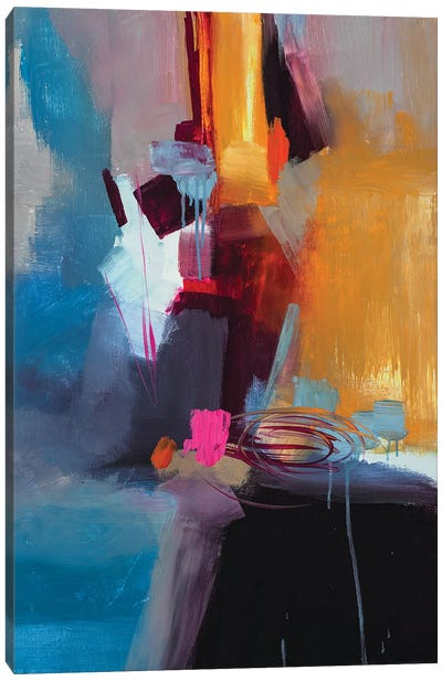 Jazzy Abstract VII Canvas Art Print