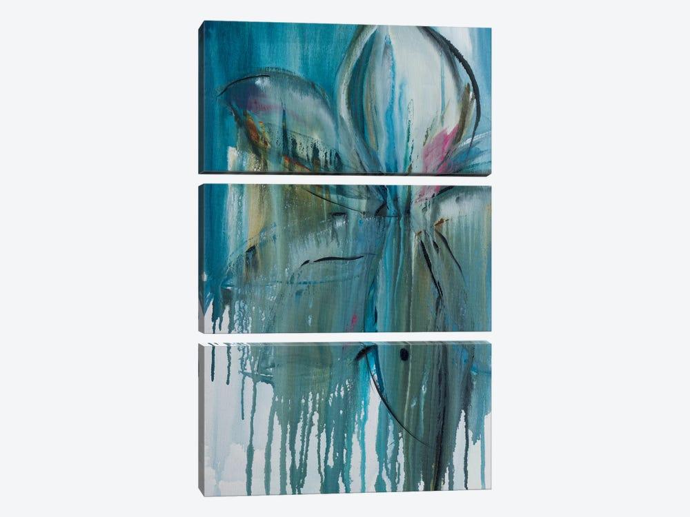 Spring Rain I by Jane M. Robinson 3-piece Canvas Art