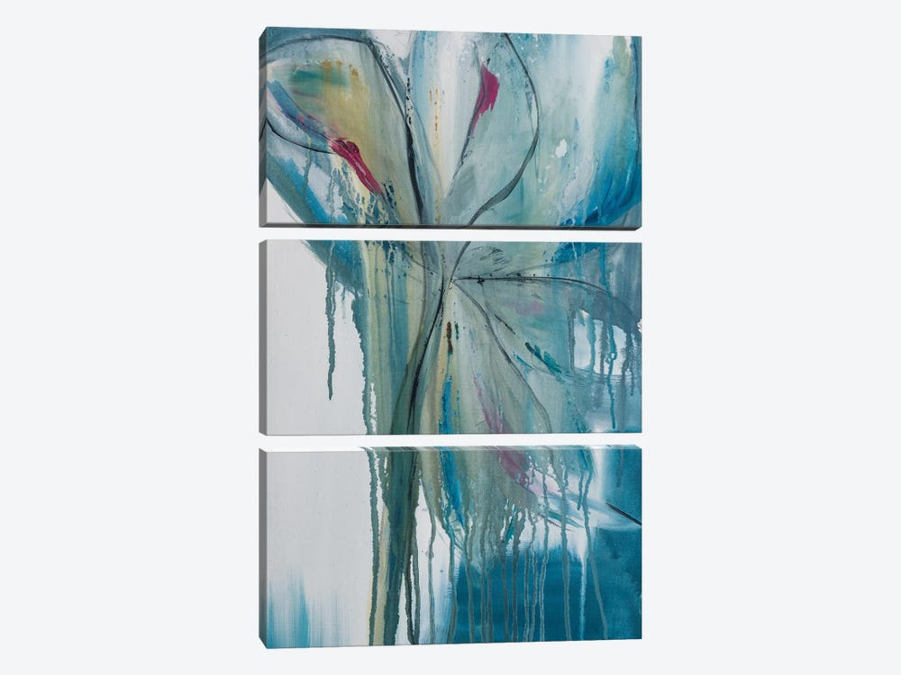 Spring Rain II by Jane M. Robinson 3-piece Art Print