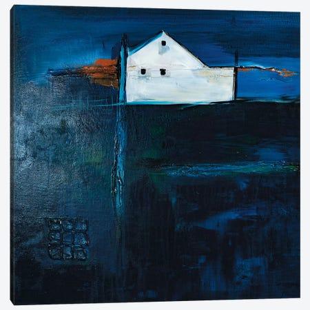 Late Night Farm Canvas Print #JMR24} by Jane M. Robinson Canvas Wall Art