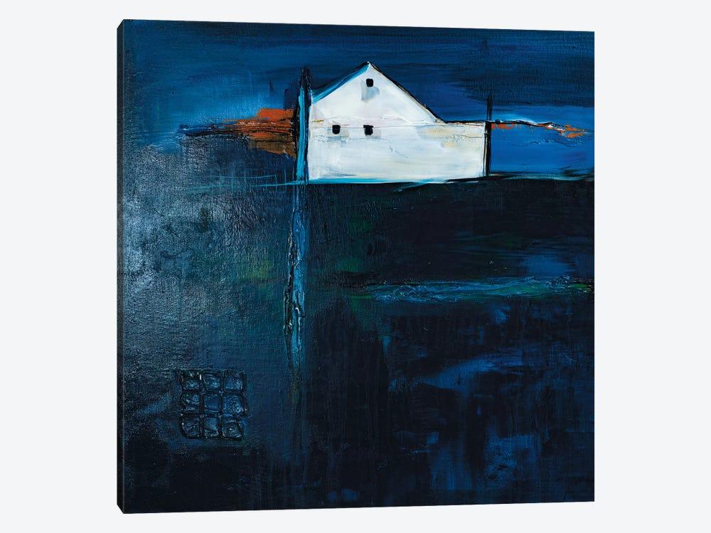 Late Night Farm by Jane M. Robinson 1-piece Canvas Art