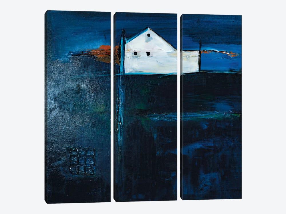 Late Night Farm by Jane M. Robinson 3-piece Canvas Artwork