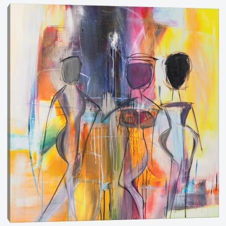 Bosa Nova Canvas Print #JMR2} by Jane M. Robinson Canvas Print