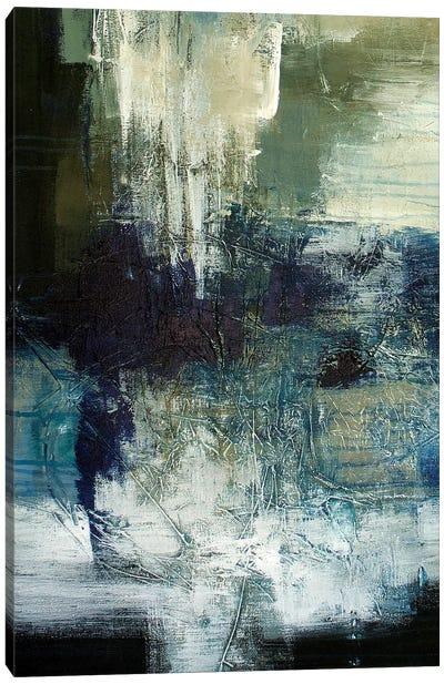 Blue Train Canvas Art Print