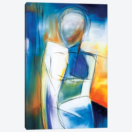 Girl From Ipanema Canvas Print #JMR4} by Jane M. Robinson Canvas Wall Art