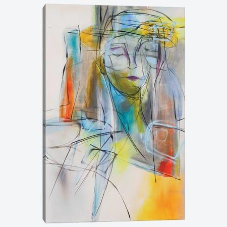Joni's Blues Canvas Print #JMR5} by Jane M. Robinson Canvas Art