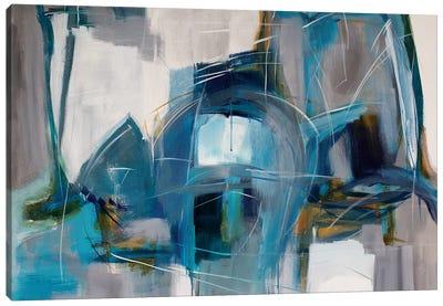 Flights Down Diptych Canvas Art Print
