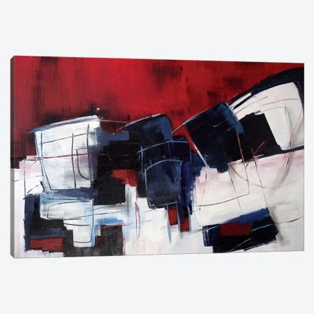 Red Rocks III Canvas Print #JMR65} by Jane M. Robinson Canvas Art