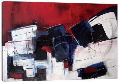 Red Rocks III Canvas Art Print