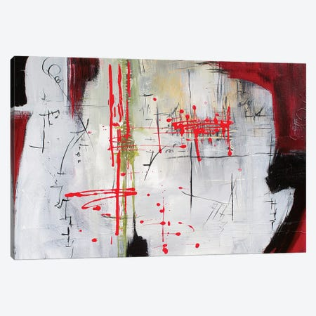 Red I Canvas Print #JMR66} by Jane M. Robinson Canvas Artwork