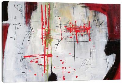 Red I Canvas Art Print
