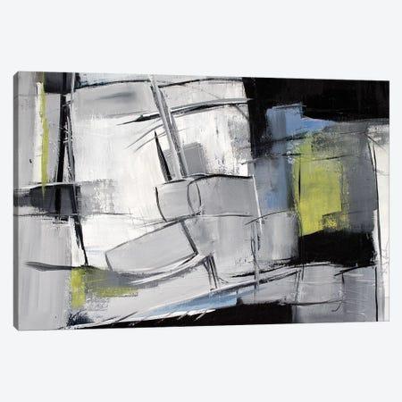 Charlie Mingus 3-Piece Canvas #JMR68} by Jane M. Robinson Canvas Print