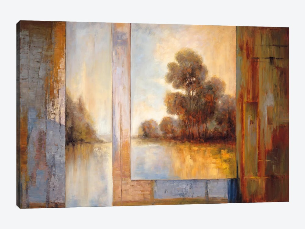 Secluded Pond I by James Bryant 1-piece Canvas Art Print