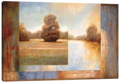 Secluded Pond II Canvas Art Print