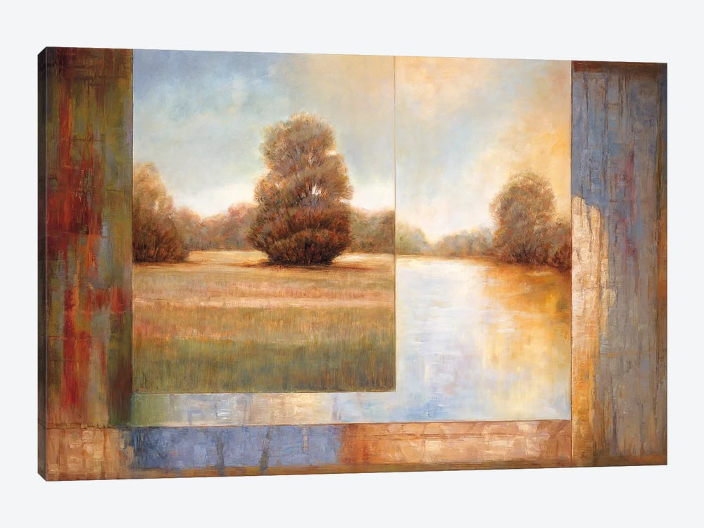 Secluded Pond II by James Bryant 1-piece Canvas Wall Art