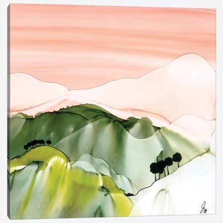 Stylised Landscape Canvas Print #JMW41} by Jan Matthews Canvas Art