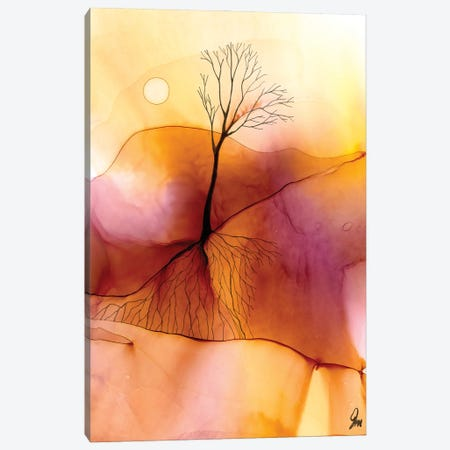 Beneath The Surface Canvas Print #JMW42} by Jan Matthews Canvas Wall Art