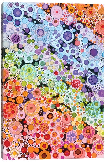 Circles Canvas Art Print