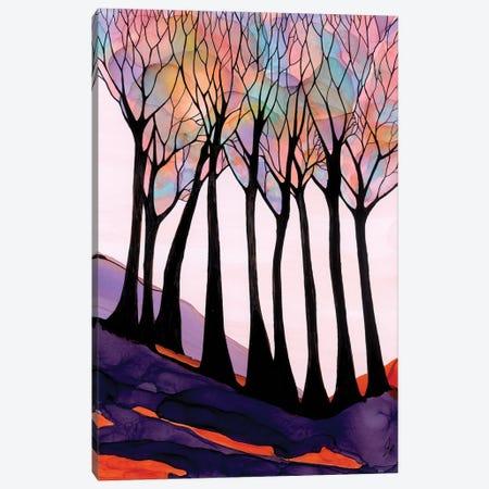 Colourful Canvas Print #JMW47} by Jan Matthews Art Print