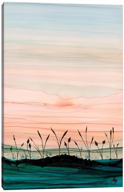 Disappearing Sun Canvas Art Print
