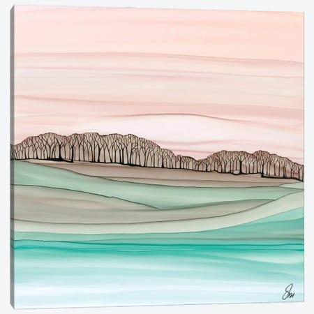 Distant Woods Canvas Print #JMW50} by Jan Matthews Canvas Art Print