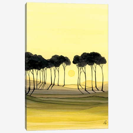 Silhouettes And Shadows Canvas Print #JMW52} by Jan Matthews Canvas Print