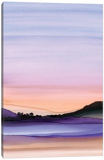 Twilight Stars Canvas Art Print
