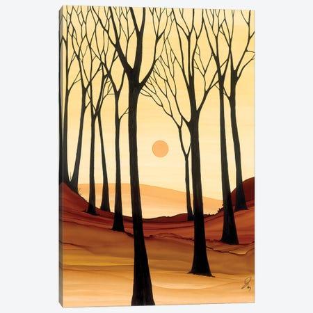 Warm Evening Canvas Print #JMW63} by Jan Matthews Canvas Artwork