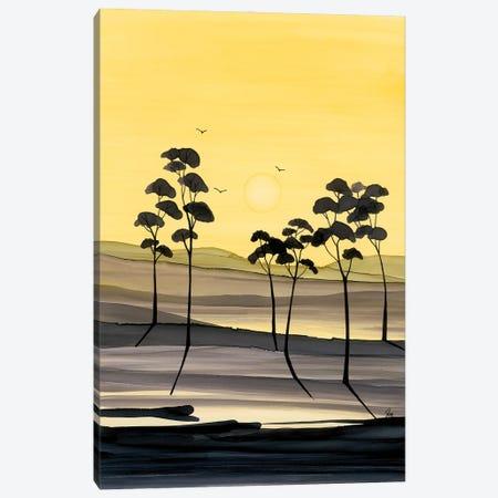 Yellow Hues Canvas Print #JMW67} by Jan Matthews Canvas Art Print