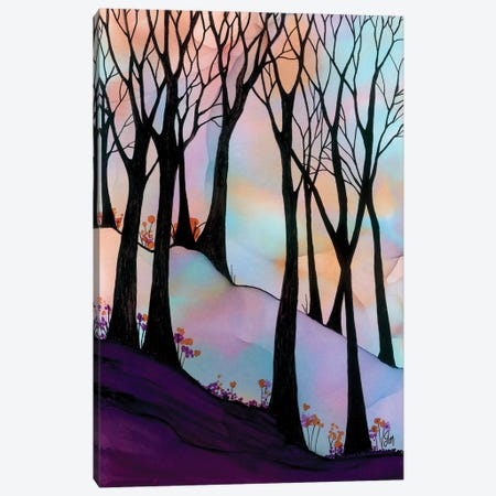 Over The Rainbow Canvas Print #JMW73} by Jan Matthews Canvas Art Print