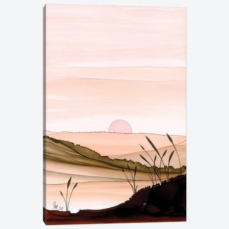 Peach Dawn Canvas Print #JMW75} by Jan Matthews Canvas Artwork