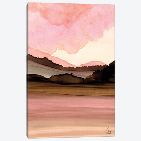 Pink Hues Canvas Print #JMW76} by Jan Matthews Canvas Art