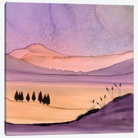 Purple Hues Canvas Print #JMW78} by Jan Matthews Art Print