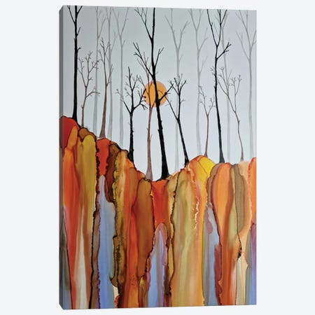 On The Edge Canvas Print #JMW80} by Jan Matthews Canvas Artwork