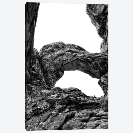 Desert Arches VI Canvas Print #JNA23} by Jenna Guthrie Canvas Artwork