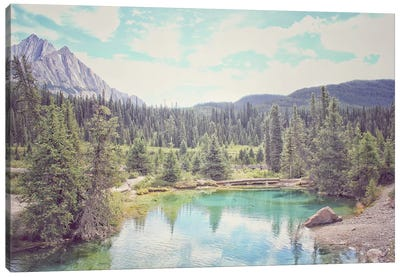 Banff IV Canvas Art Print
