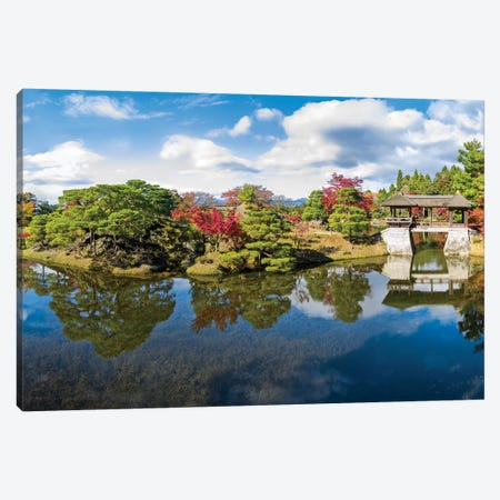 Shugakuin Imperial Villa In Kyoto Canvas Print #JNB102} by Jan Becke Canvas Art