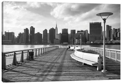 Gantry Plaza State Park In Queens, New York City, Usa Canvas Art Print
