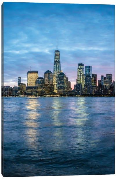 One World Trade Center And Manhattan Skyline, New York City, Usa Canvas Art Print