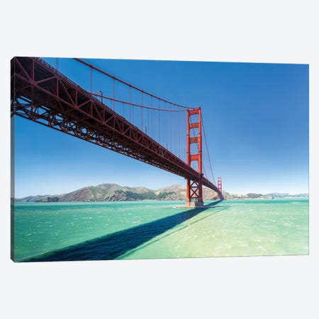 Golden Gate Bridge, San Francisco, California, Usa Canvas Print #JNB1083} by Jan Becke Canvas Wall Art