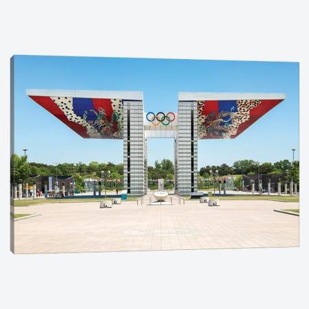 World Peace Gate At The Olympic Park Seoul, South Korea Canvas Print #JNB1094} by Jan Becke Canvas Art