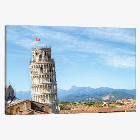 Leaning Tower Of Pisa, Italy Canvas Print #JNB1120} by Jan Becke Canvas Art Print