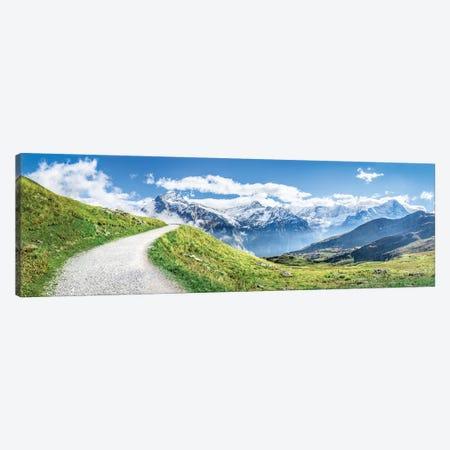 Swiss Alps Near Grindelwald Canvas Print #JNB112} by Jan Becke Art Print