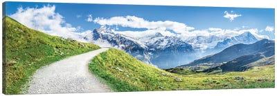 Swiss Alps Near Grindelwald Canvas Art Print